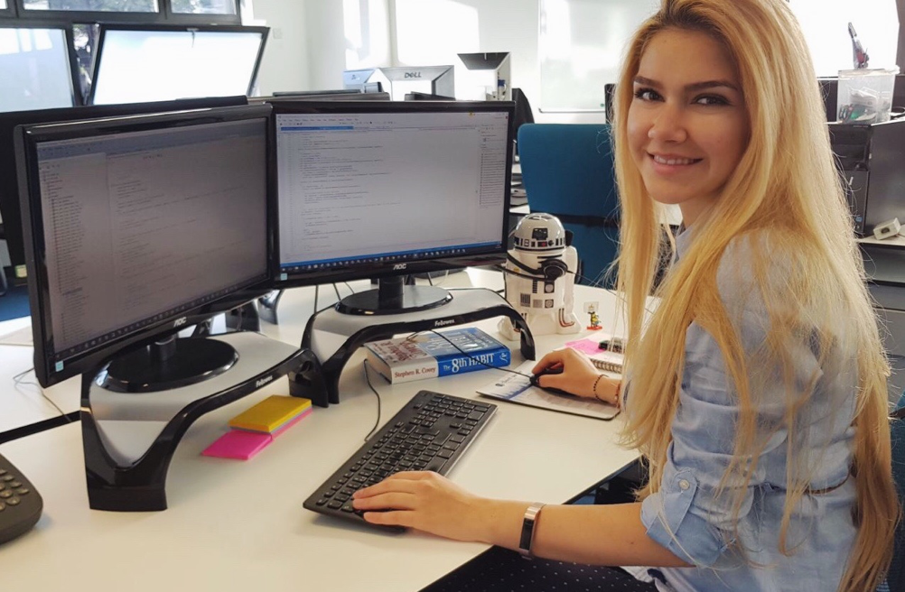 As a Software Engineer - Francesca Popa