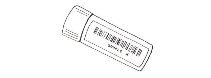 Barcoded Tube