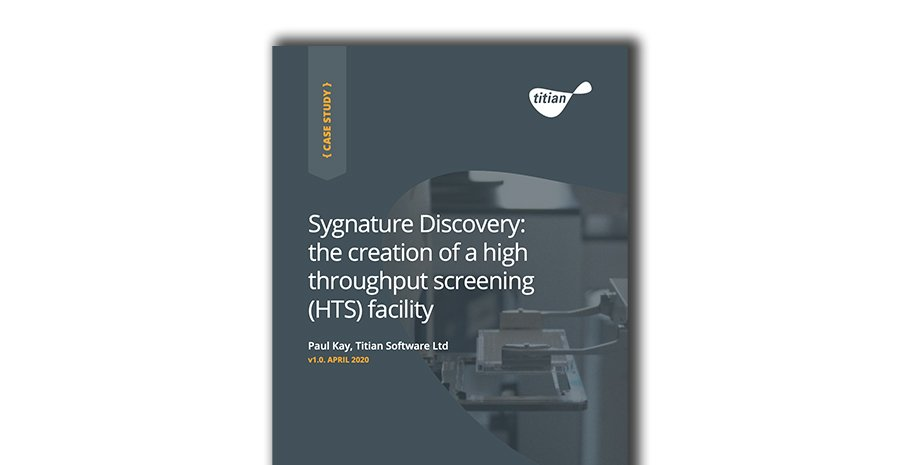 Case Study- Sygnature Discovery- the creation of a high throughput screening (HTS) facility copy
