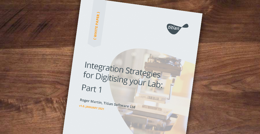 Integration Strategies for Digitising your Lab Cover