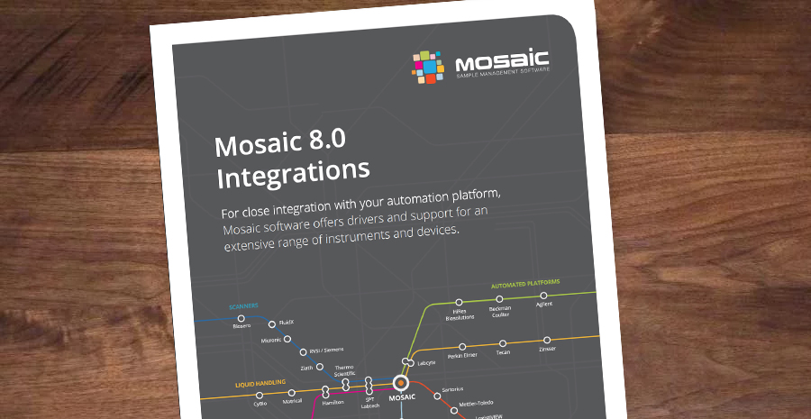 Mosaic 8 Integrations