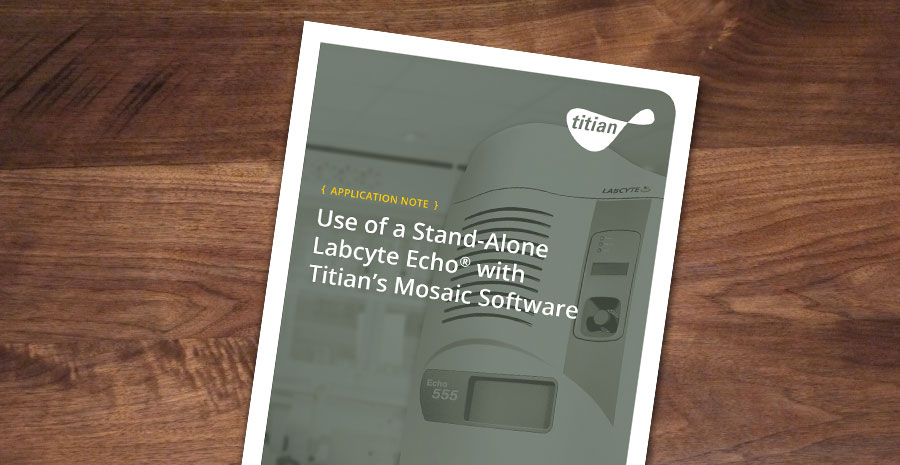 App Note Stand Alone Echo
